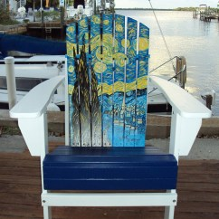 Paint For Adirondack Chairs Wholesale Bulk Chair Covers Hand Painted Starry Night By Matlachagetaway