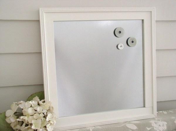 Wood Framed Magnetic Board