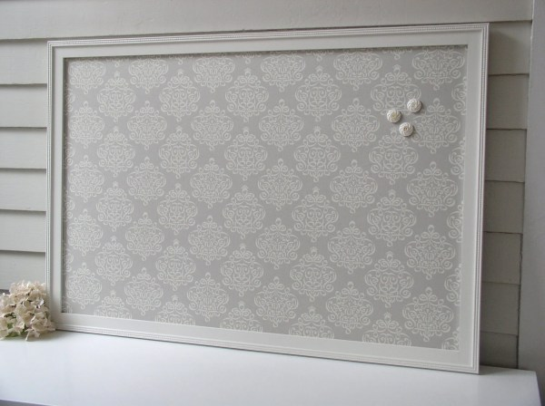 Magnetic Fabric Bulletin Board