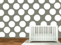 nursery wall decal Polka Dot stickers wall by ModernWallDecal