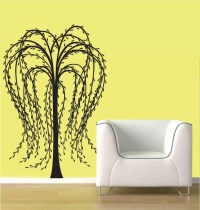 wall decal weeping willow tree Wall Decal by ModernWallDecal