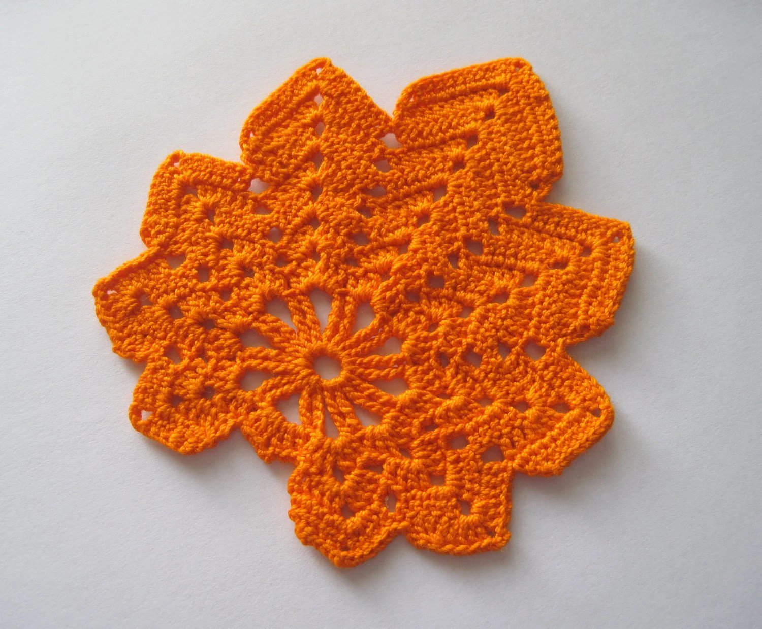 diagram crochet coaster network cable wire new leaf doily pattern
