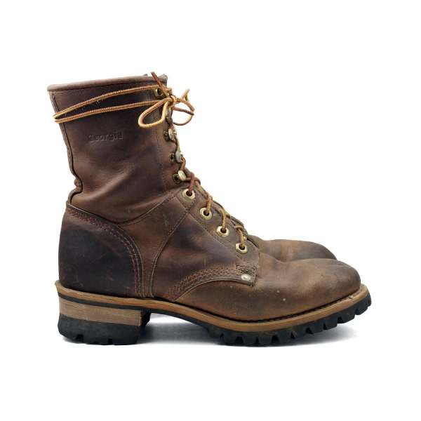 Rustic Women' Logger Boots Lace Hiker Work Boot