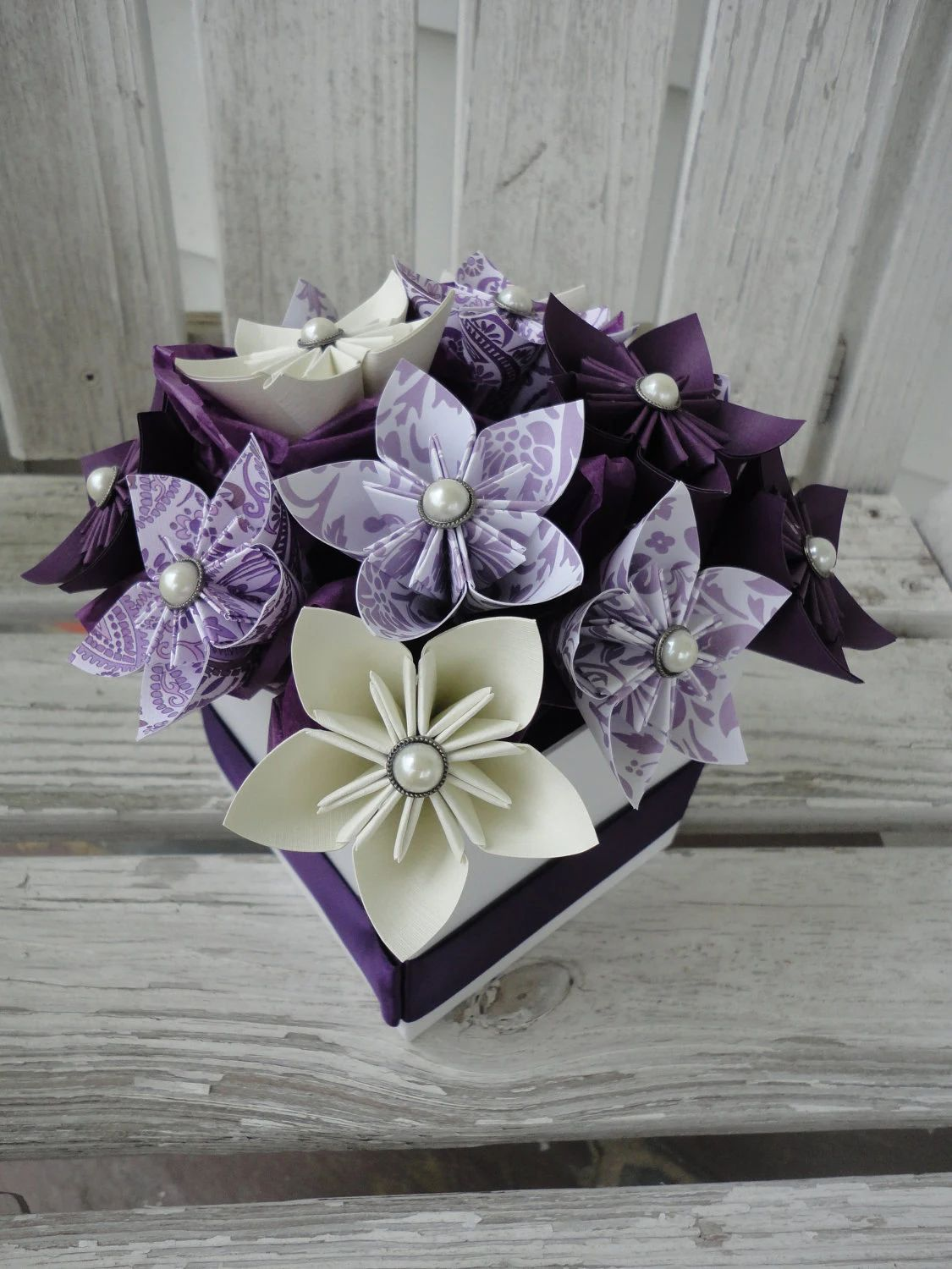 flower made in paper