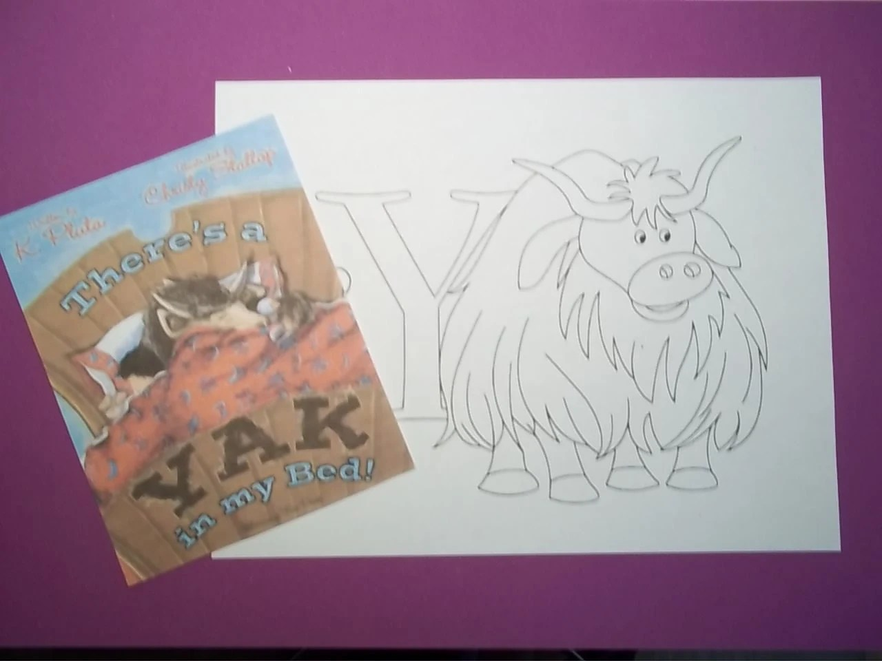 Y Is For Yak Craft Kit
