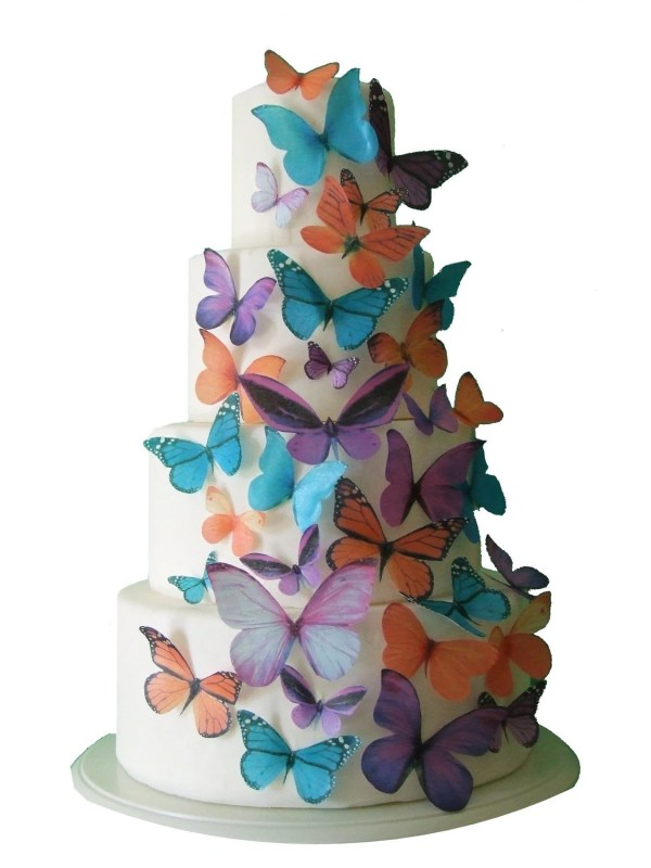 Edible Butterfly Cake Toppers Maddison Decorations