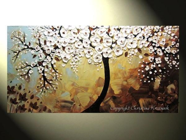 Modern Abstract Tree Painting