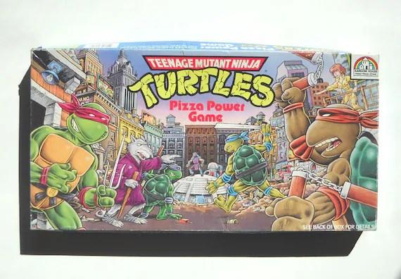 Ninja Turtle Board Game Vintage 1980s