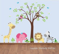 Baby Wall Decals 131A Nursery Wall Decals by StickEmUpWallArt