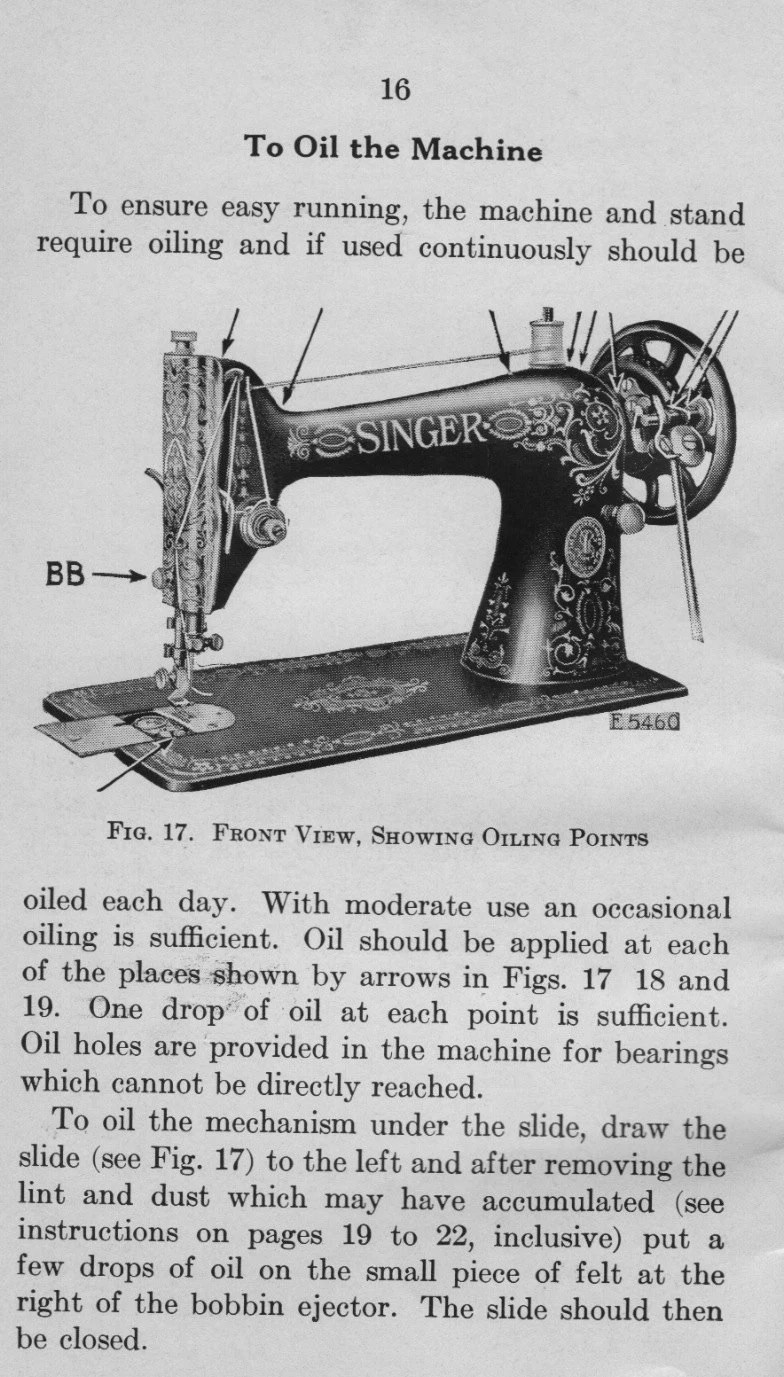 Items similar to Singer Treadle 16-66 Sewing Machine