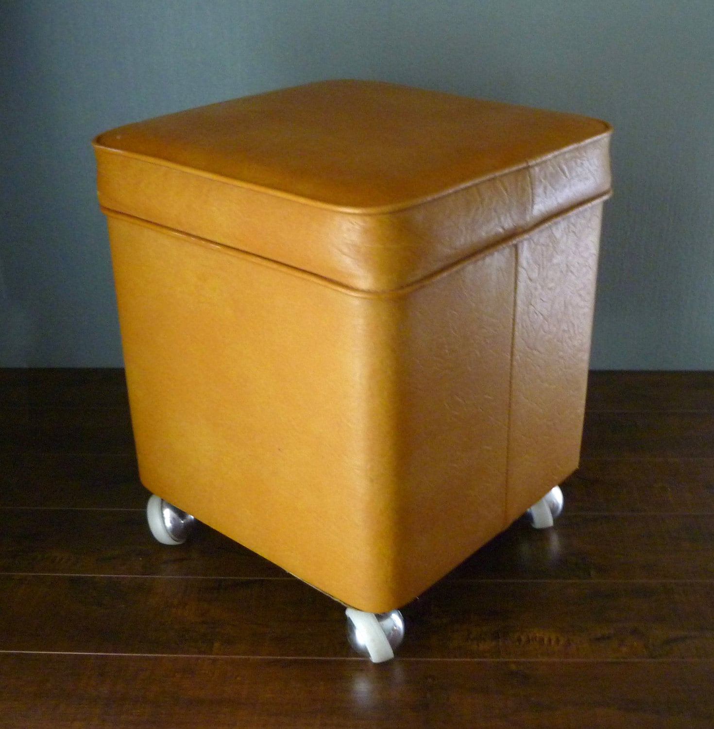 Small White Ottoman Storage