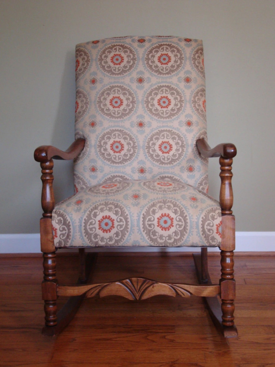 Upholstered Rocking Chair