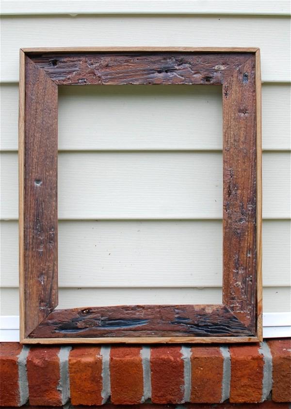 Driftwood 12x16 Wood Frame Oldlikenew