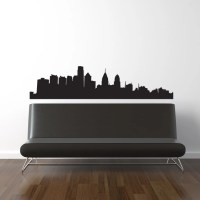 Philadelphia Skyline Wall Decal Vinyl Sticker Free