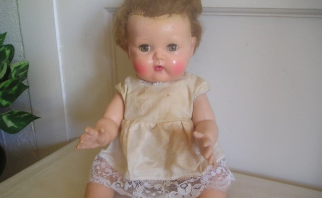 Vintage Doll Tiny Tears American Character By Debscollectibles