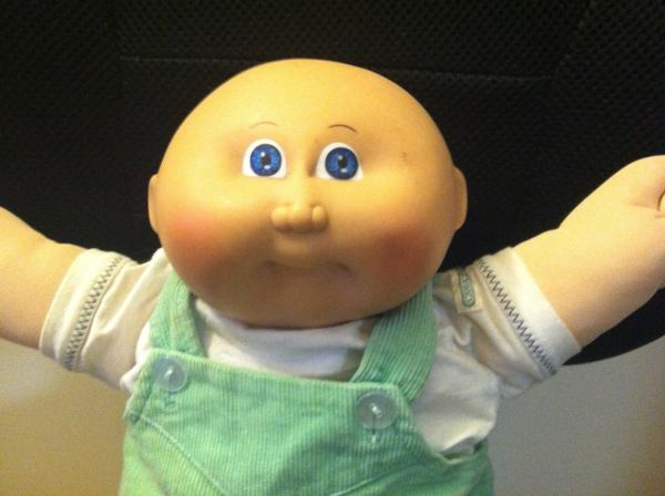 Vintage Cabbage Patch Kid Boy Baby Dollface1978