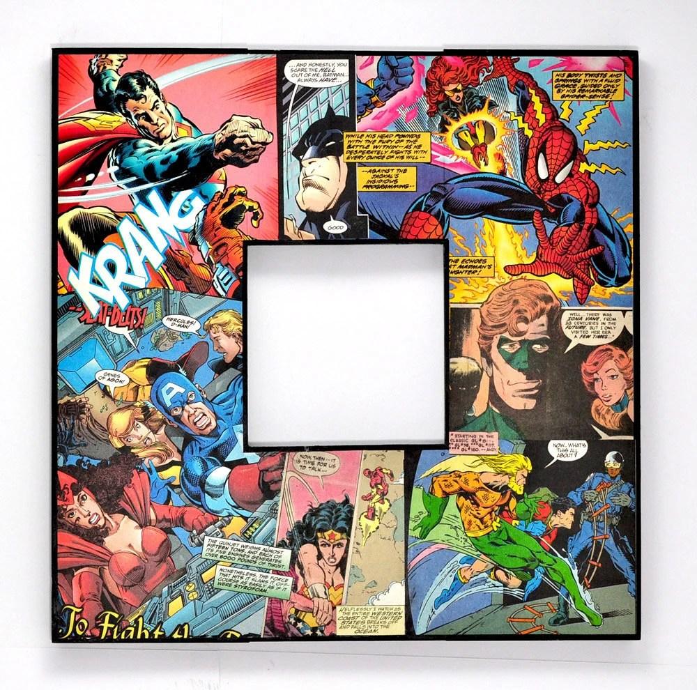 real rocket ship diagram rf transmitter and receiver block comic book superheroes decoupaged superman batman spiderman