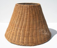 Items similar to Antique Wicker Lamp Shade on Etsy