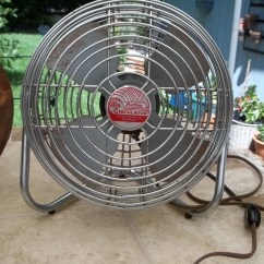 Antique Metal Chairs For Sale Cheap Dining Chair Vintage Fan Ge Patton Air Circulator Industrial Chic