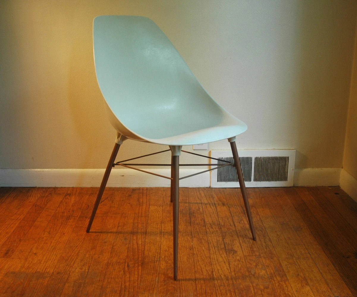 white shell chair how to reupholster a barber plastic eames era