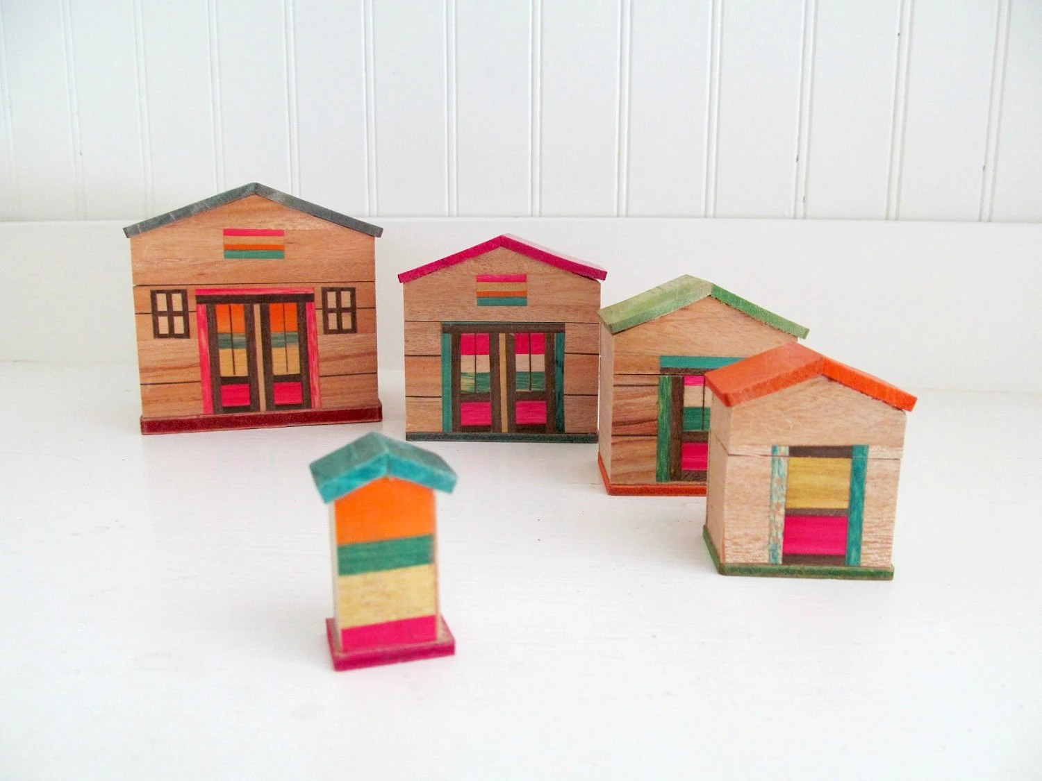 Holiday Cards Houses