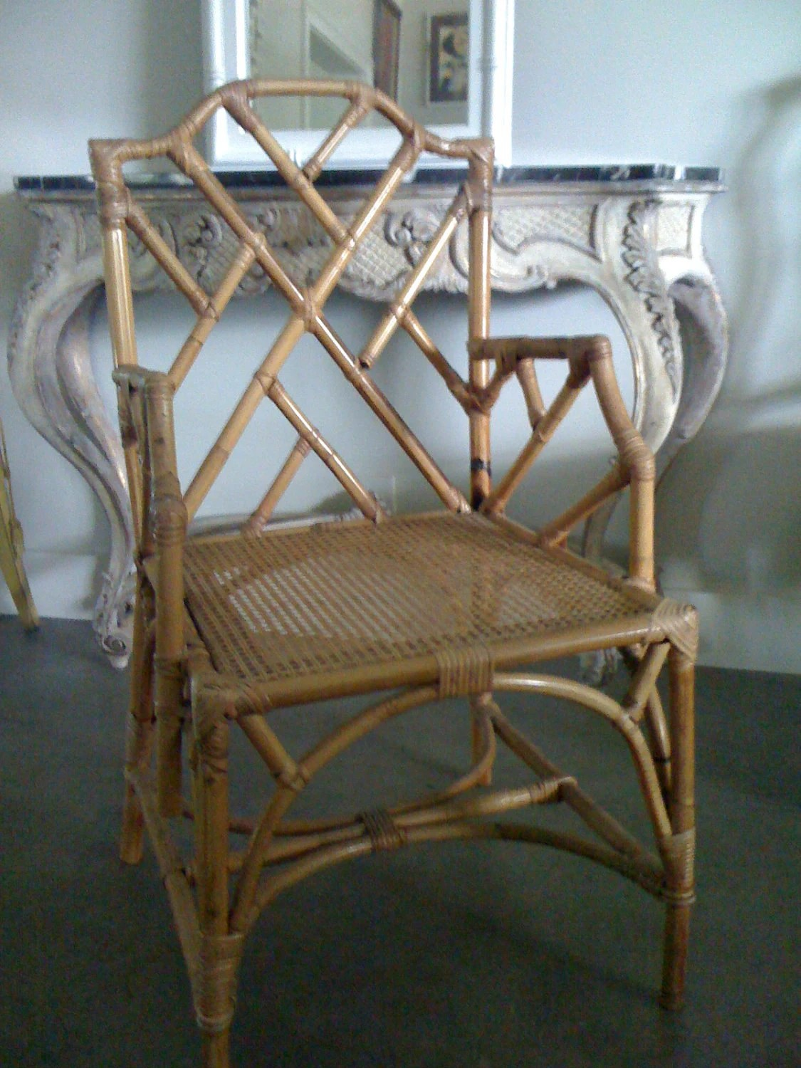 Faux Chippendale Chairs
