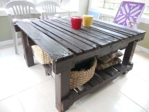Recycled Pallet Patio Potting Table Mattrivera