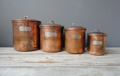 Genius Copper Kitchen Canisters That Will Fascinate You