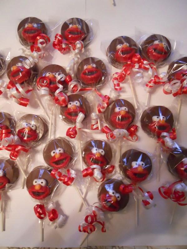 Sesame Street Elmo Chocolate Oreo Hannahchocolatedream