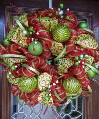 chrismas door decorations in pinterest