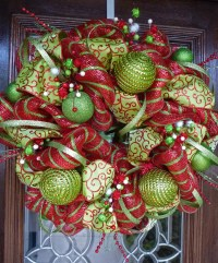 chrismas door decorations in pinterest | just b.CAUSE