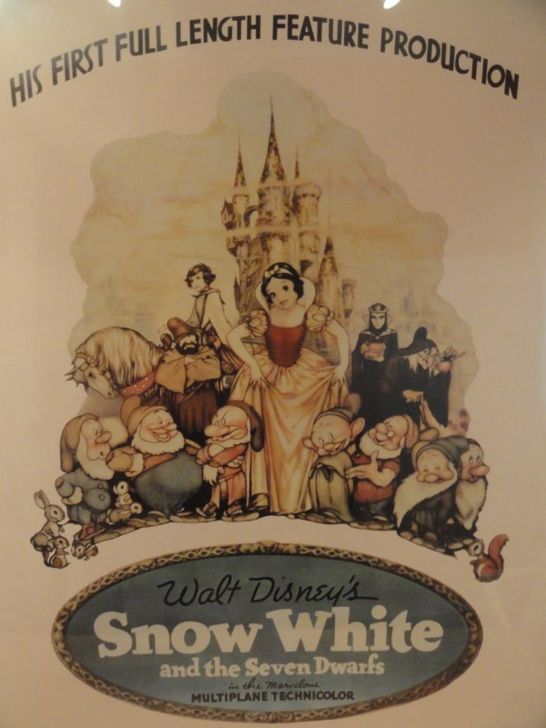 Disney Snow White And Seven Dwarfs Movie Poster Framed