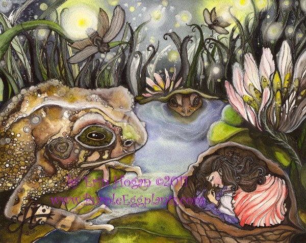 Thumbelina Fairy Tale Art