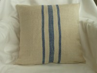 Vintage Feed Sack Pillow Covers 16 x 16