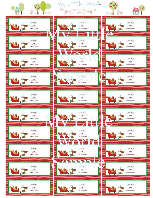 Free Christmas Address Label Templates Avery 5160