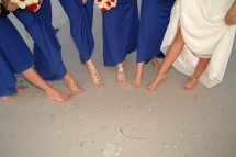Barefoot Weddings Bridal Party