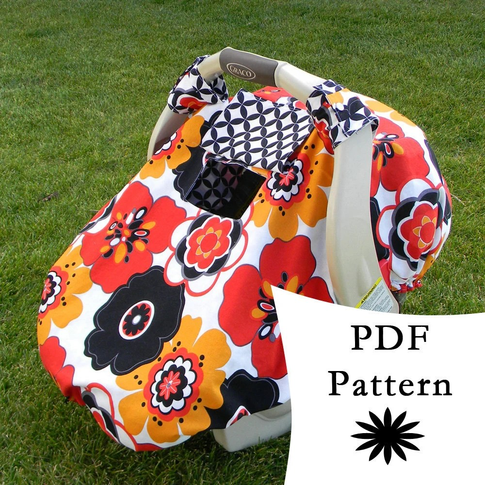 Baby Car Seat Covers Patterns