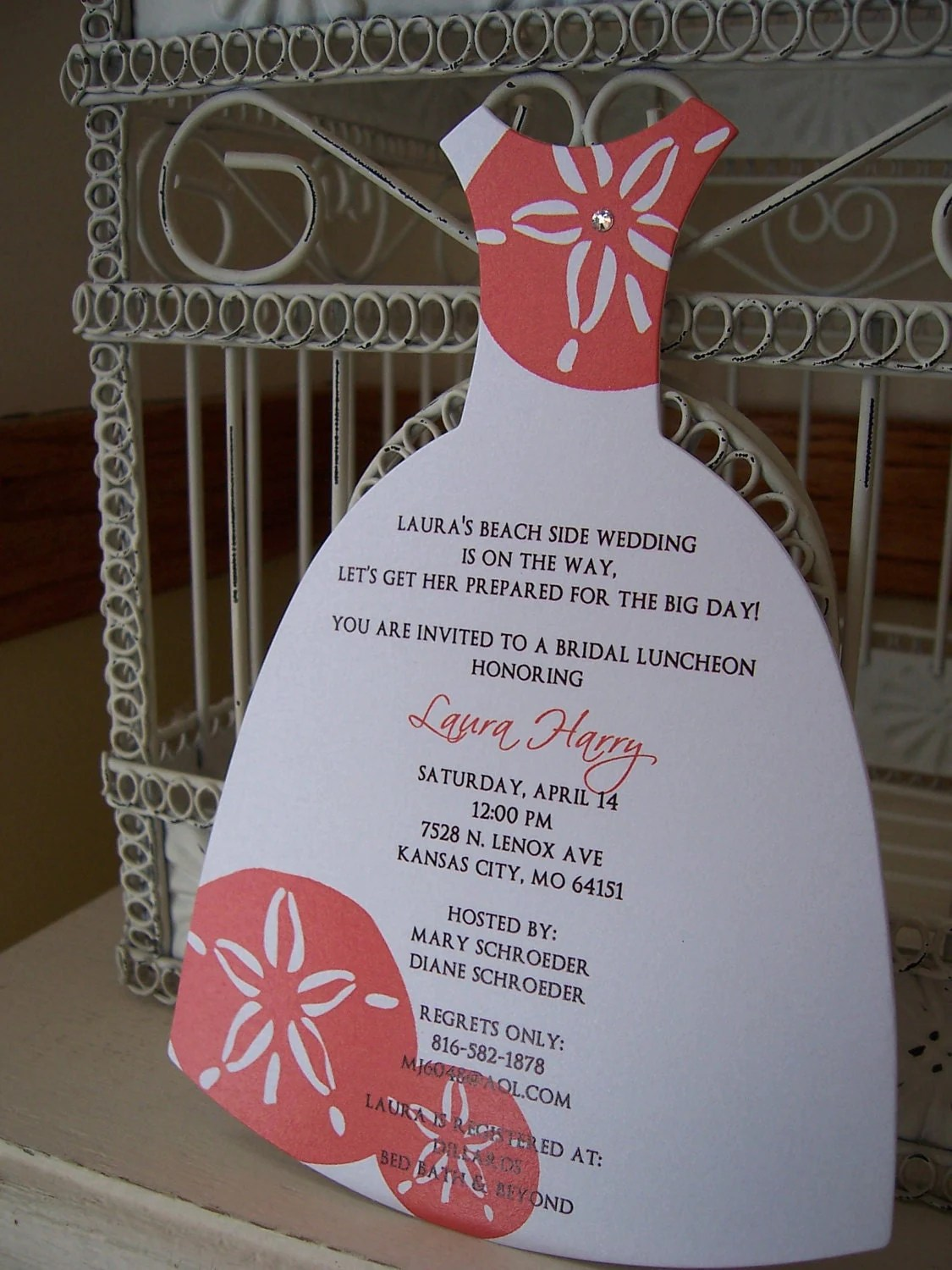 Making Wedding Shower Invitations