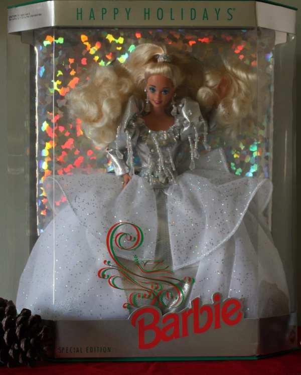 Items Similar Vintage 1992 Holiday Barbie Doll Limited