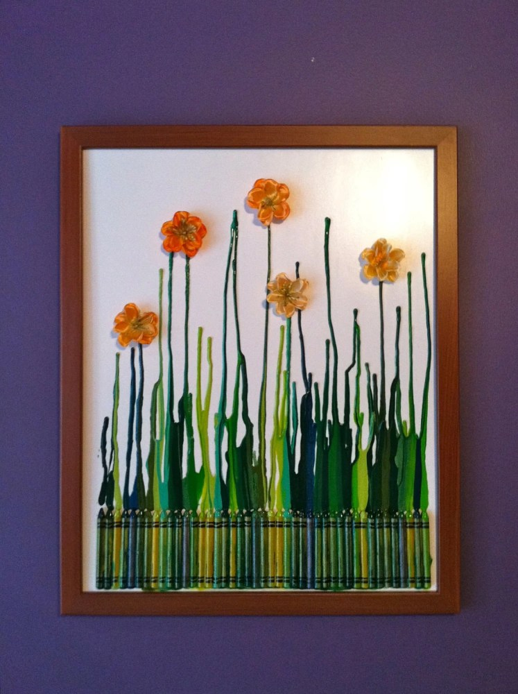 Five Things Friday: Crayon Art Ideas (3/5)
