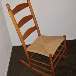 Antique Sewing Chair Faux Bamboo Chairs Australia Maple Slat Back Or Nursing Rocking