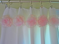 Shabby Chic flowers for Curtains...Baby Nursery by ...