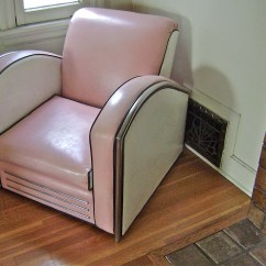 Pink Club Chair Office Seat Cover Reserved For Novawagon1964 Vintage Jazz Art Deco