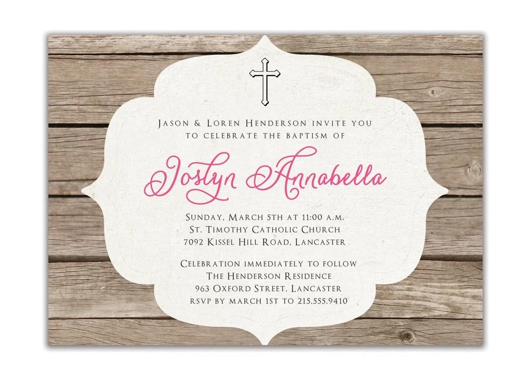 Cheap Invitations Christening