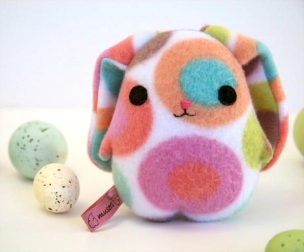 Eggbunny Pinkbelly Easter Rabbit Bunny Plush Blue Pink