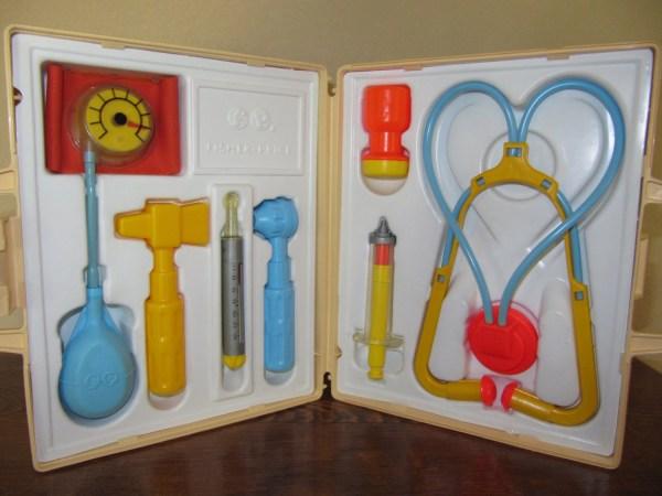Medical Kit Fisher Vintage