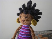 crochet pattern african princess