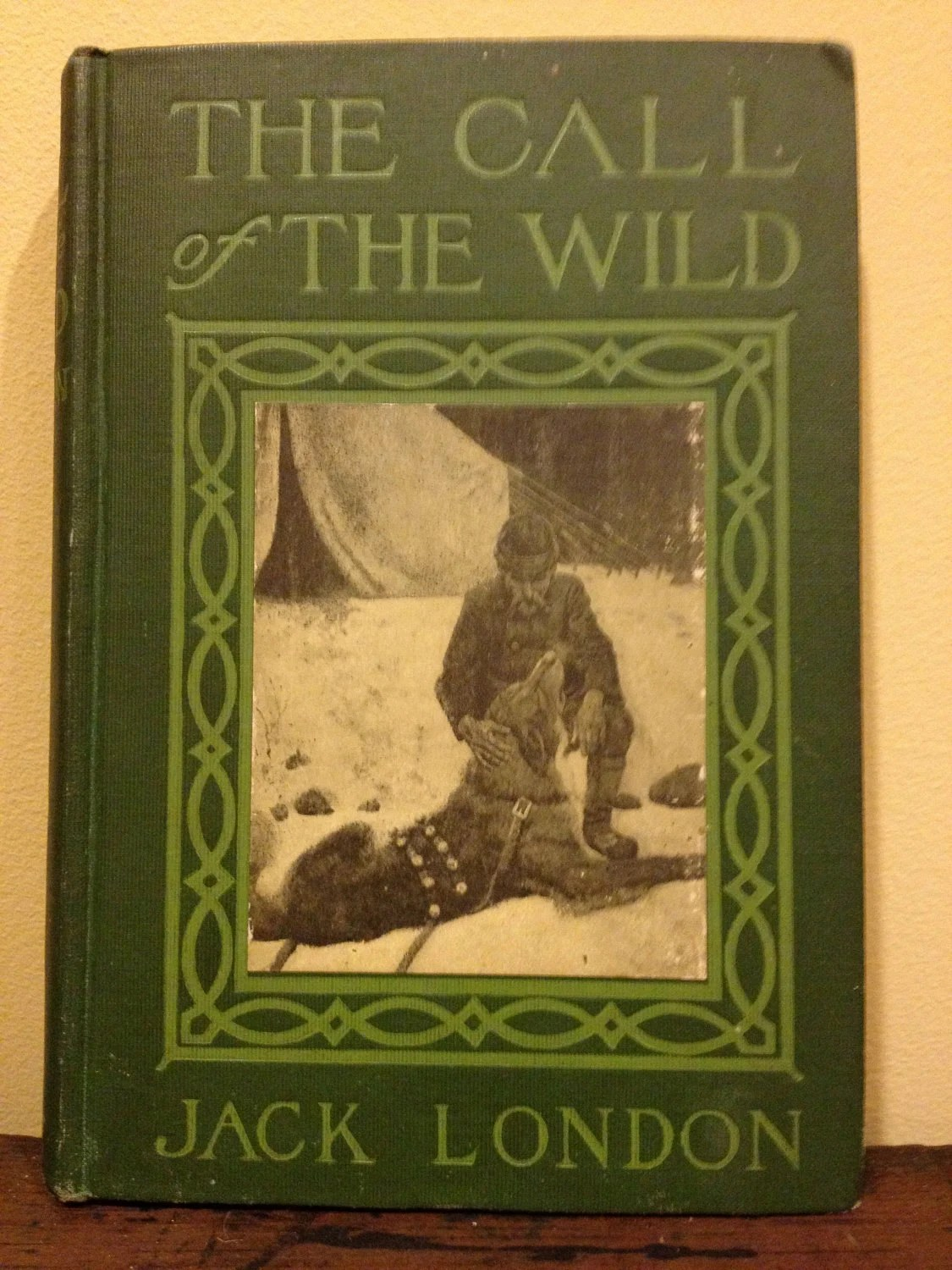 Antique Copy Jack London S The Call By