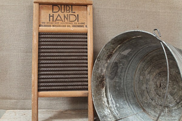 Vintage Washboards and Tubs