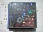 Holographic Star Cards with handmade poochette/petal envelopes, set of 6 - IrishBrigid